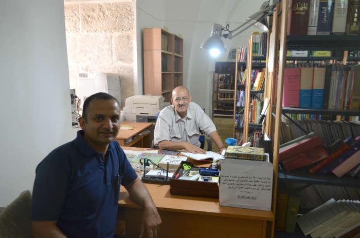Librarian-Aqsa-Library
