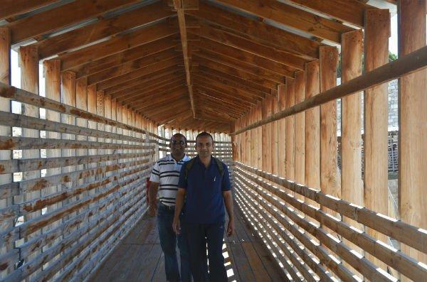 Wooden-bridge-Moroccan-Gate